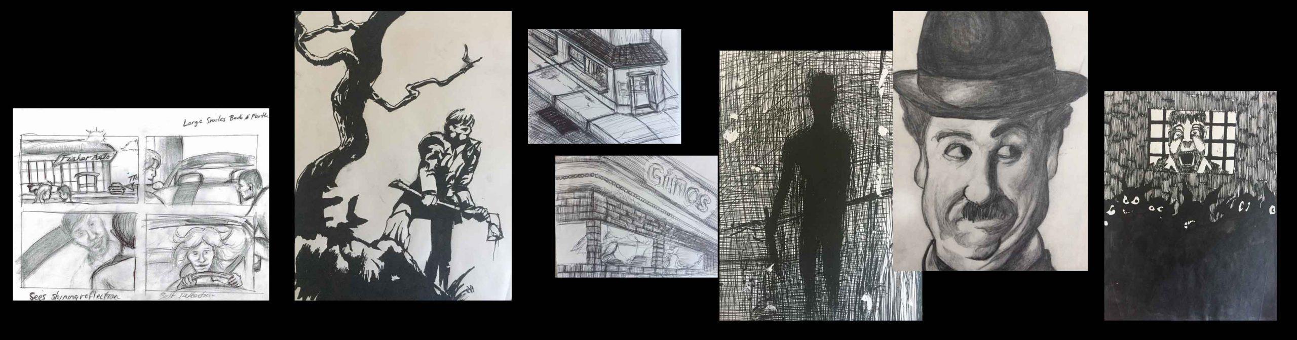 Art by storyboard artist & concept artist Nicholas Teti III, Colorado USA