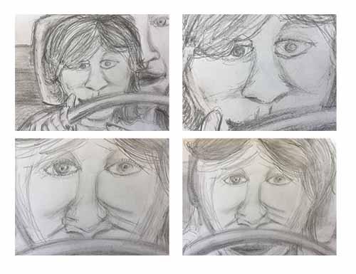 Storyboard artist, storyboard art drawing, Nicholas Teti III, Nick