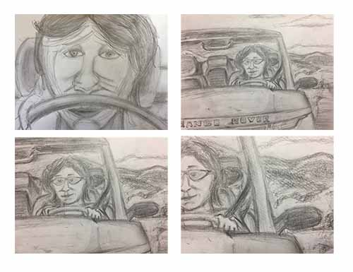 TV television commercial advertising storyboard, by storyboard artist Nick Teti III