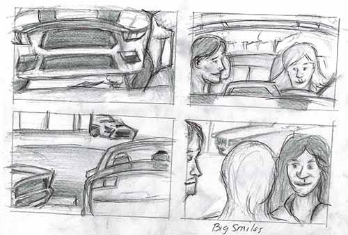 Storyboard art, storyboard artist  - misterphoton.com   (720) 299-2084